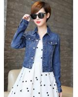 PJ1853 Trendy Denim Jacket Blue (Pre Order)