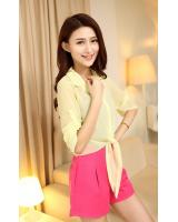 PJ1857 Charming Cardigan Yellow (Pre Order)