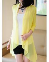 PJ1858 Pretty Cardigan Yellow (Pre Order)