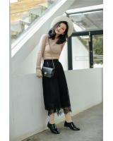PK1910 Lovely Skirt Black (Pre Order)