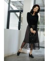PK1911 Lace Skirt Grey (Pre Order)
