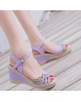 PS1867 Stylish Shoe Purple (Pre Order)