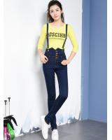 PP1878 Fashion Jumpsuit Blue (Pre Order)