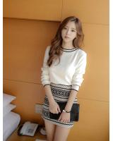 PT1927 Top and Skirt Set As Picture (Pre Order)