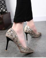 PS1894 Stylish Shoe Gold (Pre Order)