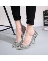 PS1894 Stylish Shoe Silver (Pre Order)