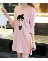 PD2005 Casual Dress Pink (Pre Order)