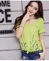 PT1931 Fashion Top Green (Pre Order)