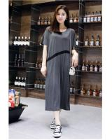 WD7515 Stylish Dress Grey