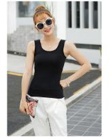 WT7538 Casual Sleeveless Top Black