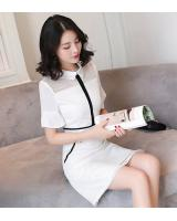 PD2025 Trendy Dress White (Pre Order)