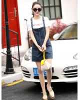 PP1945 Fashion Denim Jumpsuit Blue (Pre Order)