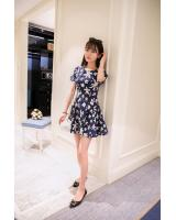 PD1947 Floral Dress White (Pre Order)