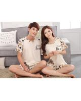 PT2064 Couple Top & Pant Set White (Pre Order)