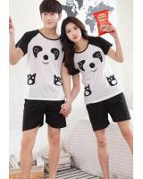 PT2065 Couple Top & Pant Set Panda (Pre Order)