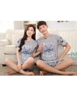PT2067 Couple Top & Pant Set Grey (Pre Order)