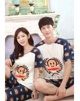 PT2068 Couple Top & Pant Set Blue (Pre Order)