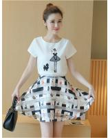 PT1951 Top and Skirt Set As Picture (Pre Order)