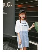 PD1953 Stylish Dress White (Pre Order)