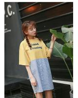 PD1953 Stylish Dress Yellow (Pre Order)