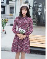 WD7561 Pretty Floral Dress As Picture