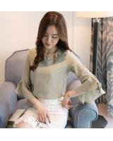 PT2076 Pretty OL Top Green (Pre Order)