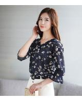 PT2077 Charming OL Top Dark Blue (Pre Order)