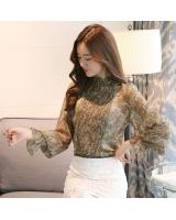 PT2078 Stylish OL Top Green (Pre Order)