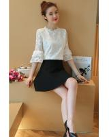 WT7578 Lovely Lace Top White