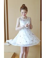 PD1958 Lovely Dress White (Pre Order)