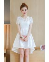 PD1959 Pretty Lace Dress White (Pre Order)