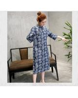 VW8024 Trendy Printed Dress As Picture