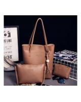 YS3889 3 IN 1 FASHION BAG (BROWN)