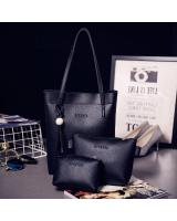YS3889 3 IN 1 FASHION BAG (BLACK)