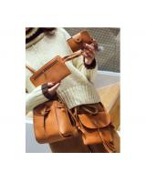 YS4016 4 IN 1 SET BAG (BROWN)