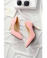 Pointed High Heels Pink