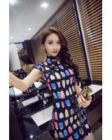 GW1250 Trendy Cheongsam As Picture