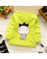 SS kids long sleeve yellow