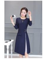 GW1303 Charming Dress Dark Blue