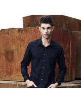 VW8602 Charming Men Top Dark Blue
