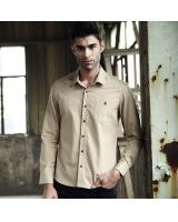 VW8602 Charming Men Top Khaki