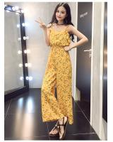 EW2253 Stylish Jumpsuit Yellow
