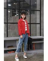 VW8846 Charming Jacket Red