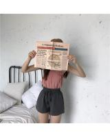 VW8863 Fashion Short Pant Grey