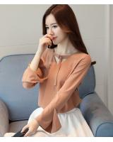 VW10105 Stylish Chiffon Top Khaki