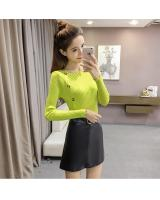 EW2263 Stylish Knit Top Light Green