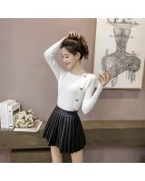 EW2263 Stylish Knit Top White