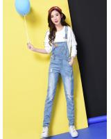 VW10182 Fashion Denim Jumpsuit Light Blue