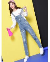 VW10183 Fashion Denim Jumpsuit Blue