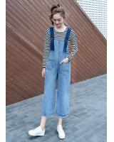 VW10184 Stylish Denim Jumpsuit Blue